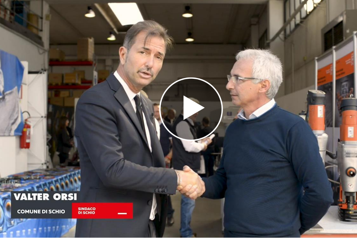 Il CEO di Arroweld incontra il Sindaco di Schio, Valter Orsi